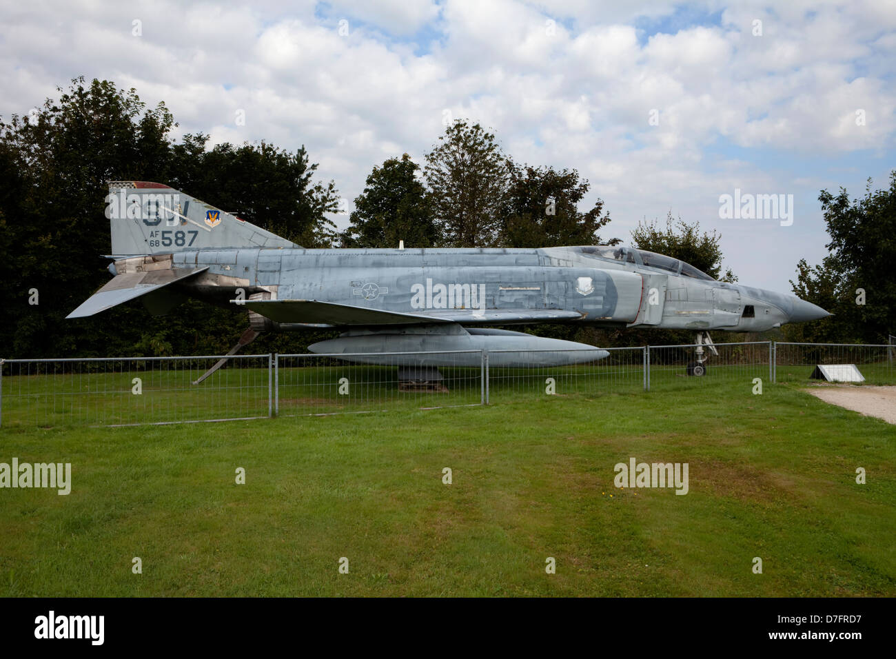McDonnell RF-4C Phantom II , Aircraft Collection Hermeskeil, Germany, Europe - Stock Image