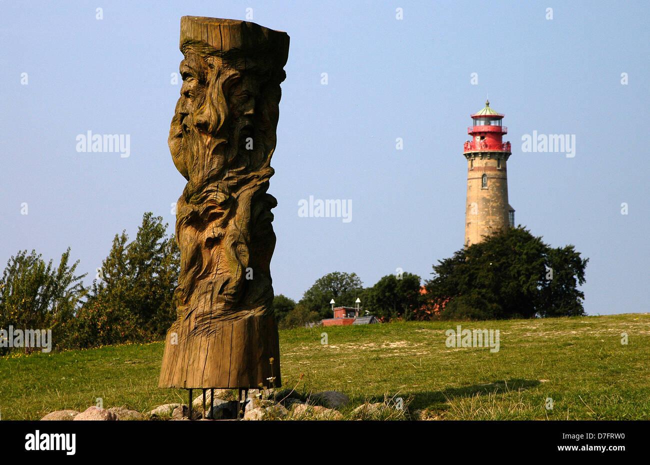 Germany, Baltic Sea, Rügen, Ruegen, cape Arkona, lighthouse - Stock Image