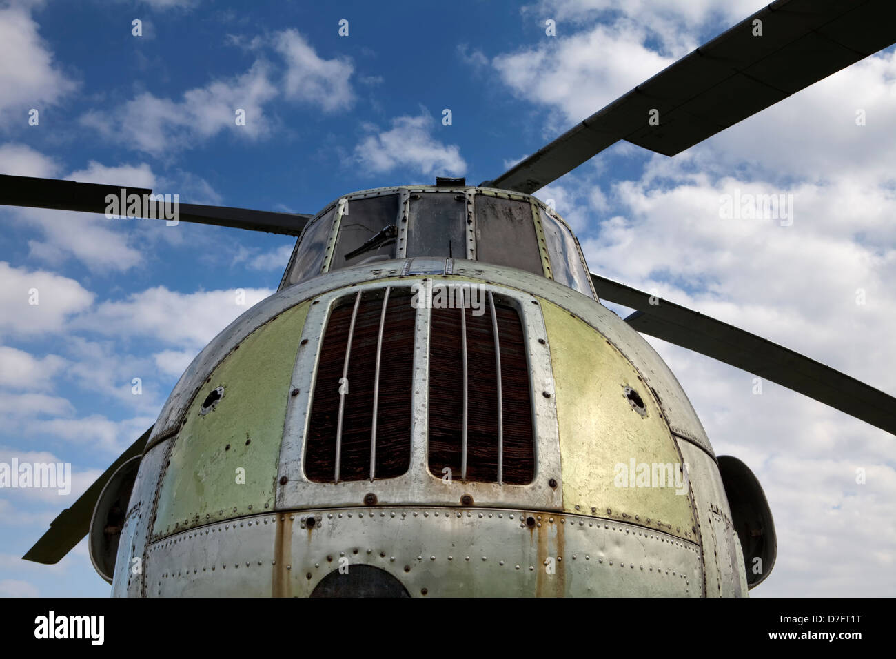 Aeroflot Mil Mi-4, Heavy Soviet transportation helicopter, Aircraft Collection Hermeskeil, Germany, Europe - Stock Image