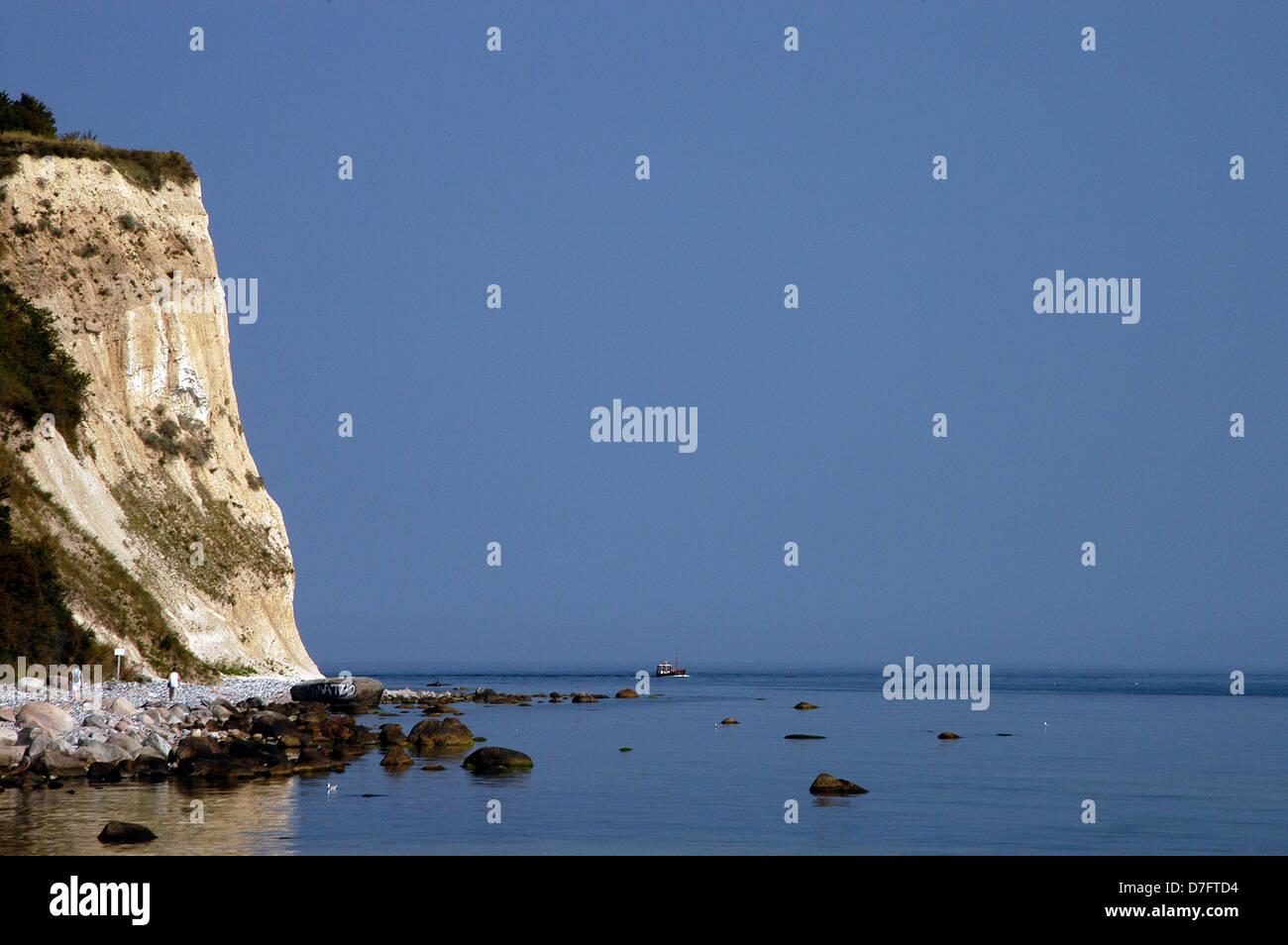 Germany, Baltic Sea, Rügen, Ruegen, cape Arkona, chalk rock, Kap Arkona, Kreidefelsen - Stock Image