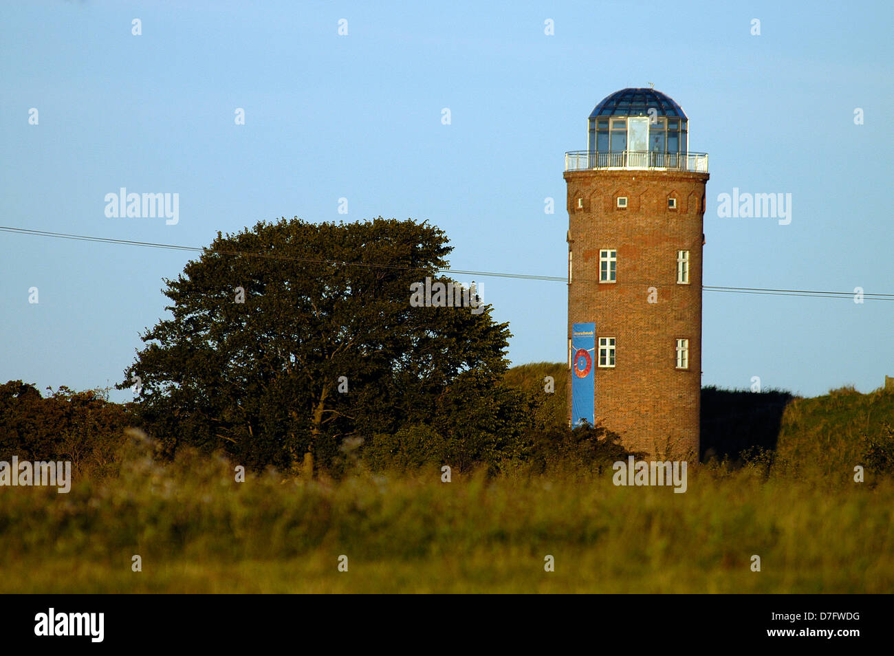 The Baltic Sea, Rügen, cape Arkona, observation tower, Kap Arkona, Germany - Stock Image