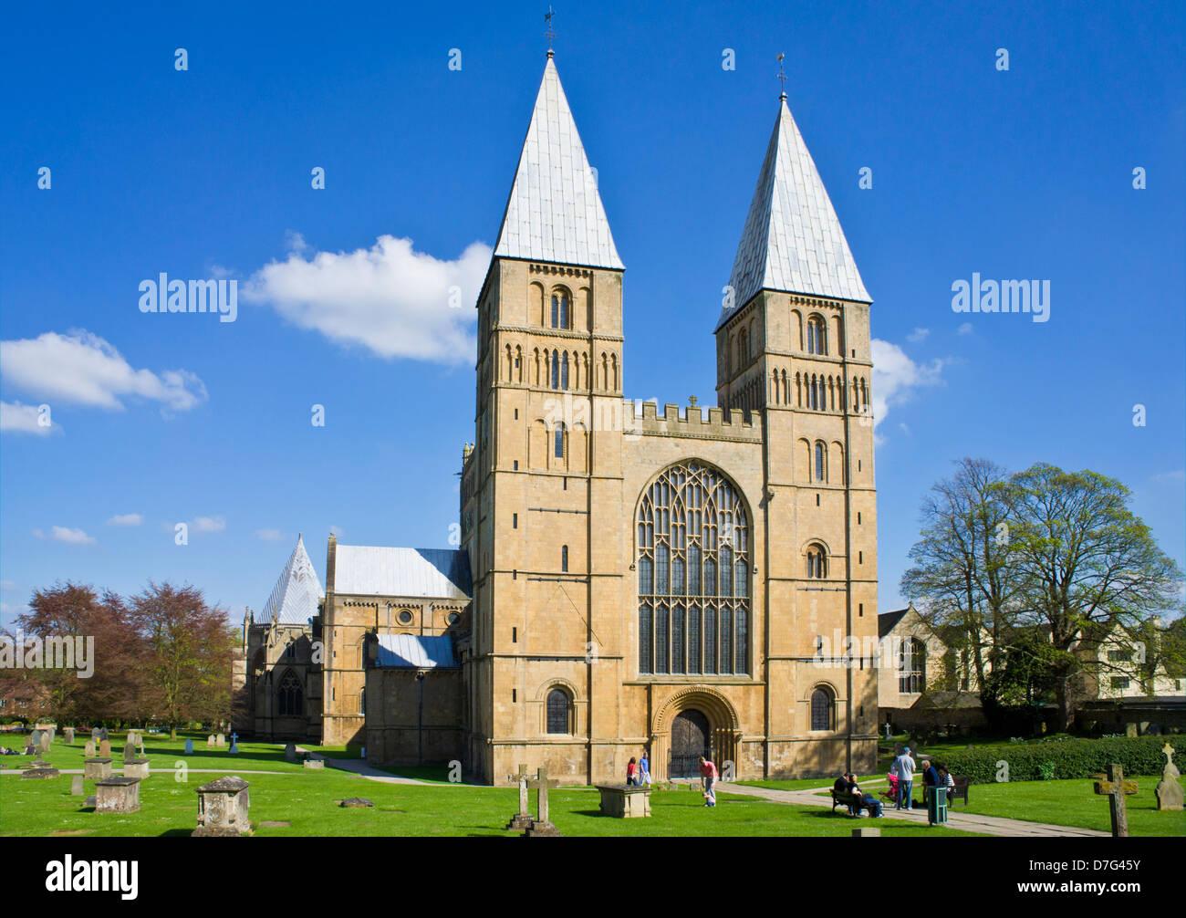 Southwell Minster Southwell Nottinghamshire England UK GB EU Europe - Stock Image