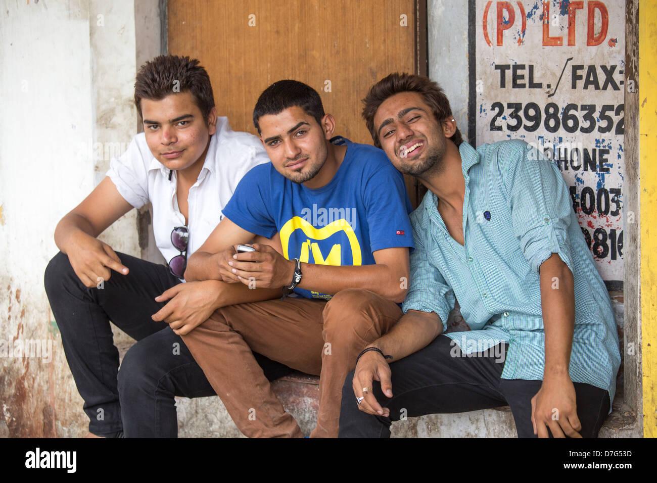 In delhi men Late night