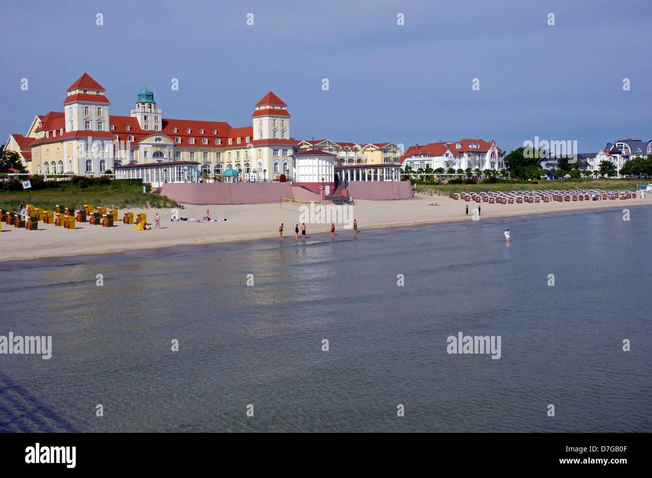 Germany, Mecklenburg-West Pomerania, island Rügen, Ruegen, Binz, Baltic sea - Stock Image