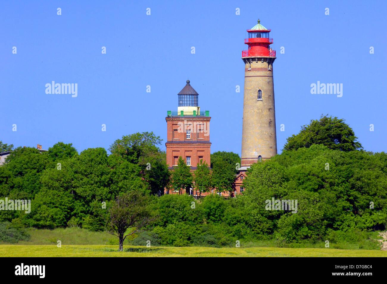 Germany, Mecklenburg-West Pomerania, island Rügen, cape Arkona, lighthouse, lighthouses - Stock Image