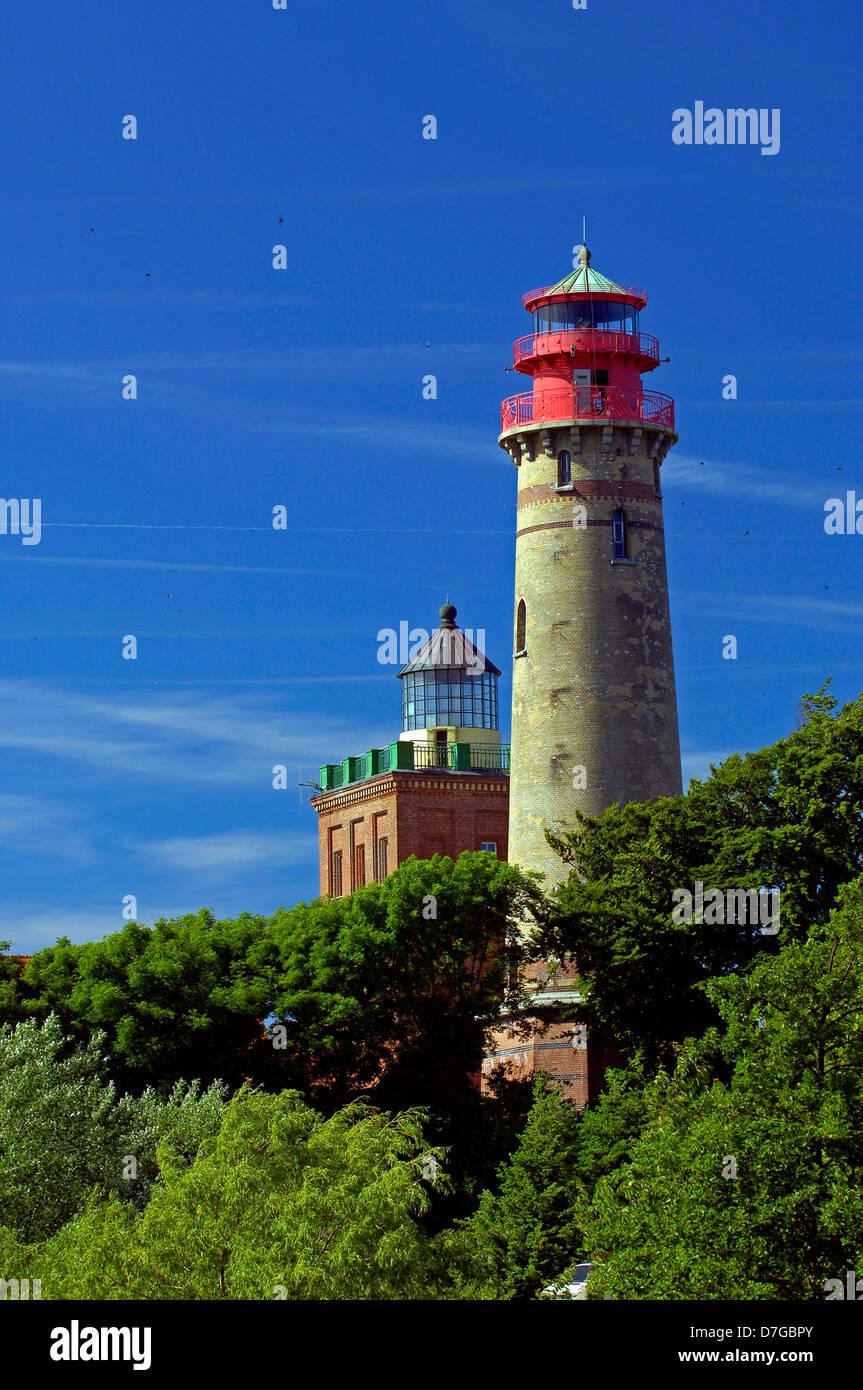 Germany, Mecklenburg-West Pomerania, island Rügen, cape Arkona, lighthouse, lighthouses, lighthouses - Stock Image