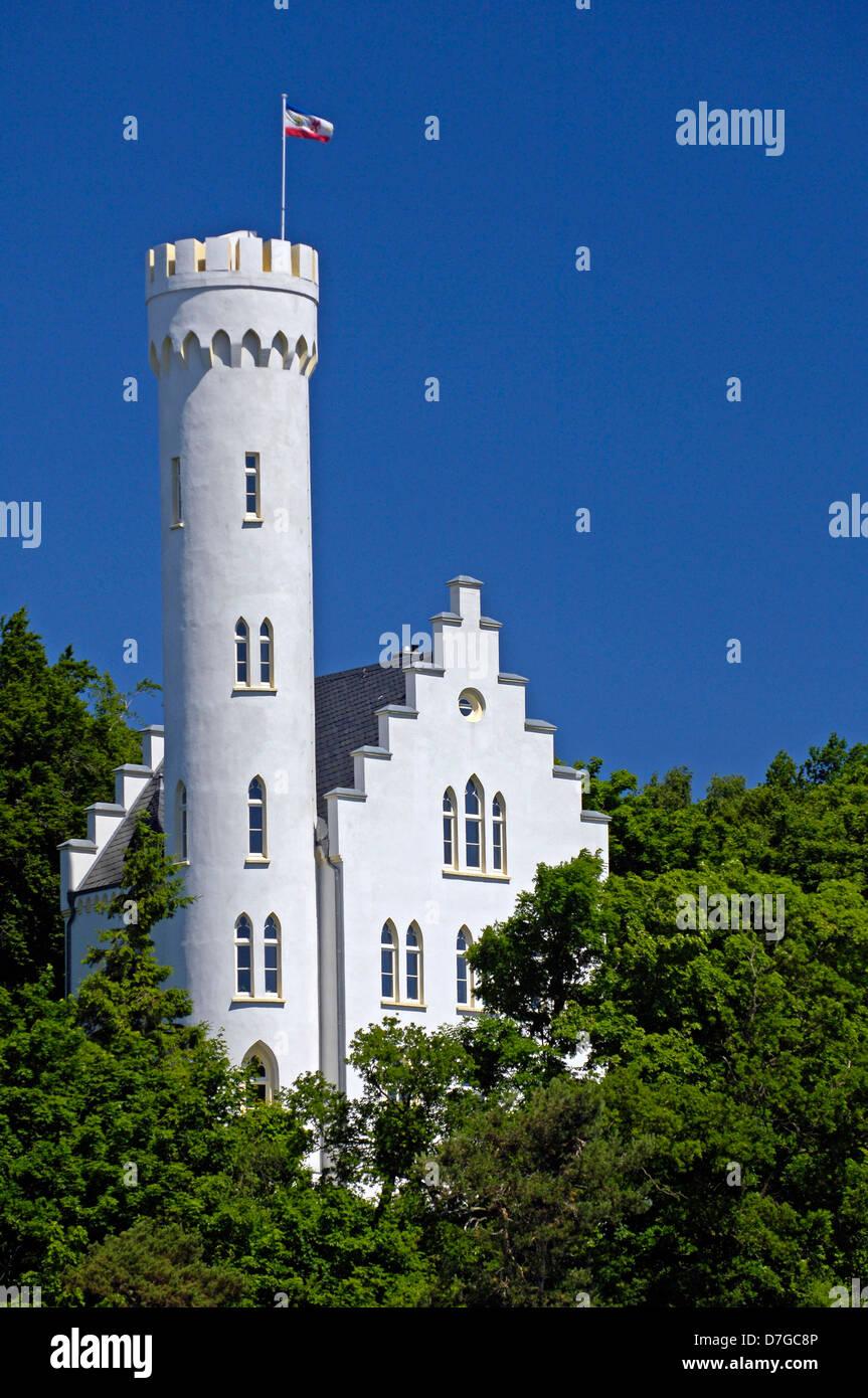 Germany, Mecklenburg-West Pomerania, island Rügen, Lietzow, castle - Stock Image