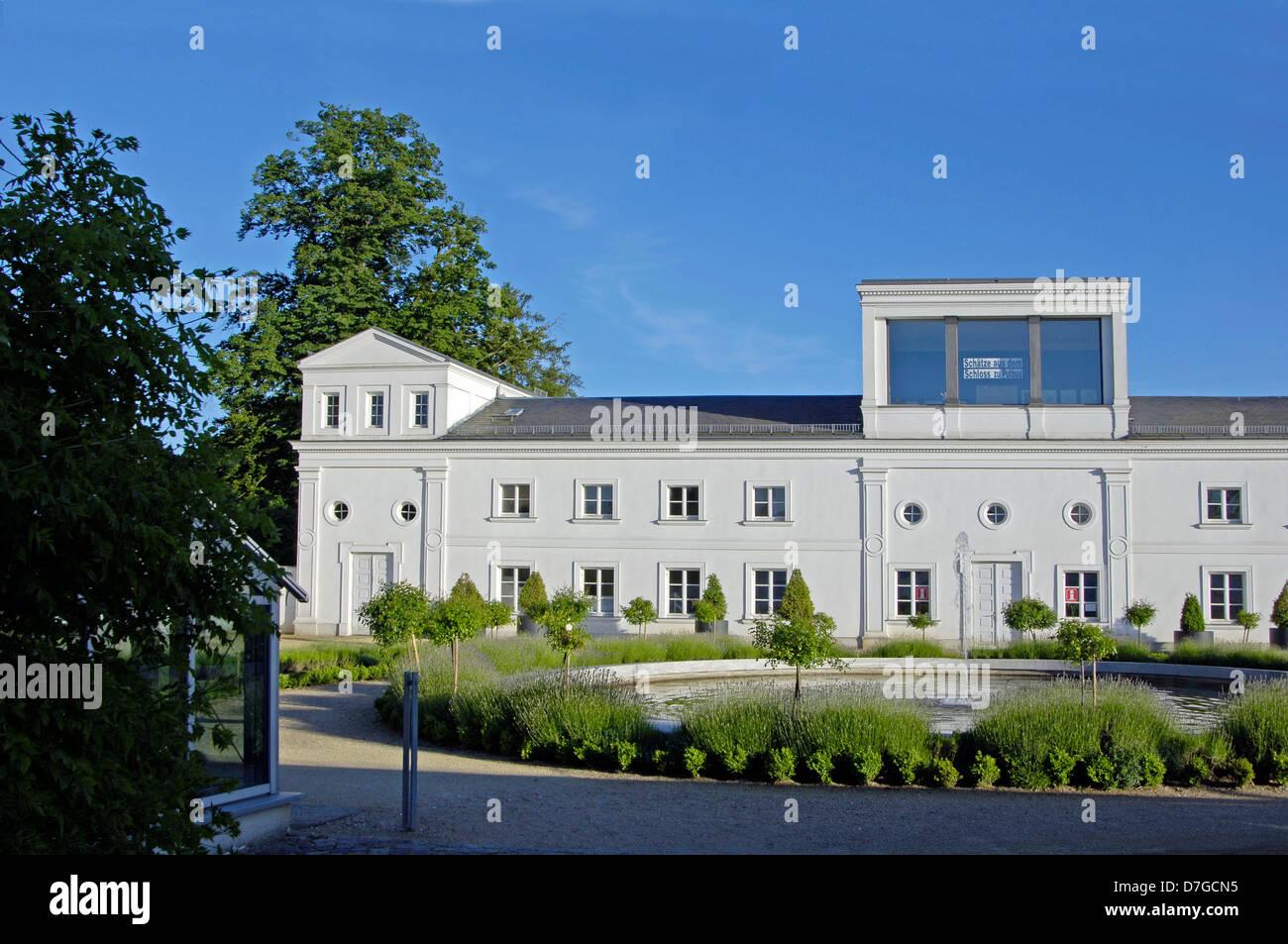 Germany, Mecklenburg-West Pomerania, island Rügen, Putbus, castle park, orangery - Stock Image