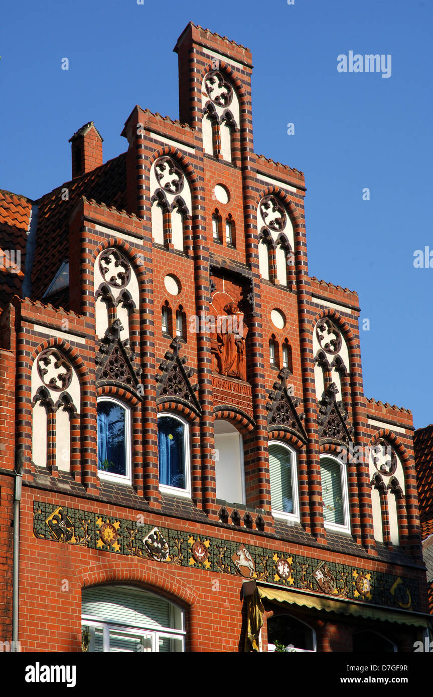 Germany, Lower Saxony, Hannover, architecture, brick building Stock Photo