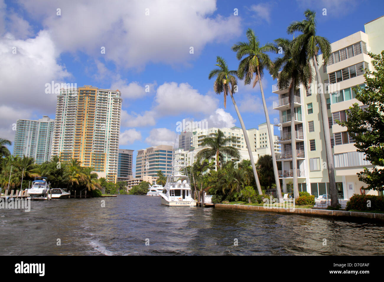 balcony las olas Fort Lauderdale Florida Ft New River City Skyline