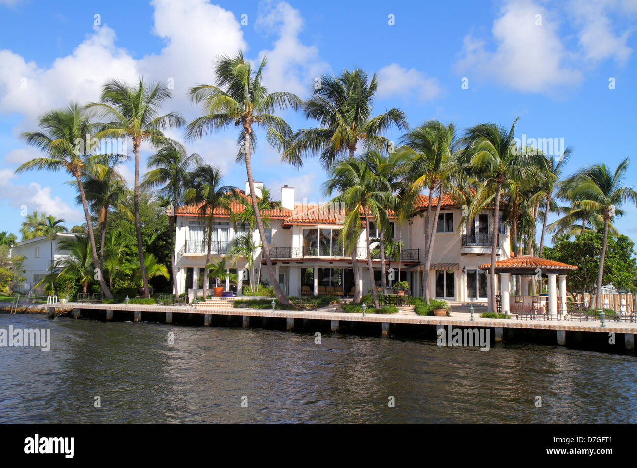 Fort Lauderdale Florida Ft New River Waterfront Home