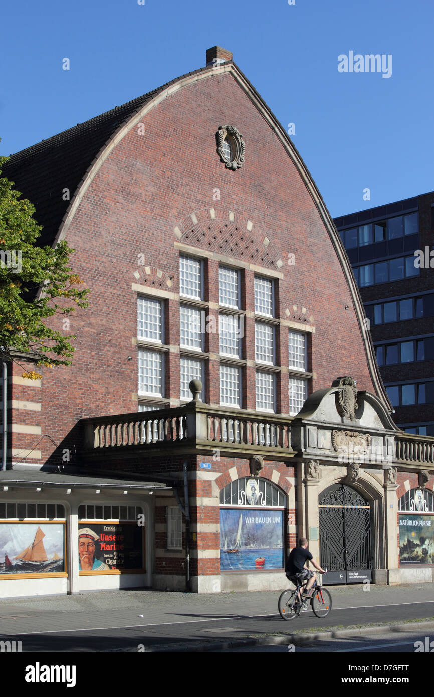 Kiel Schleswig Holstein Maritime Museum Stock Photo