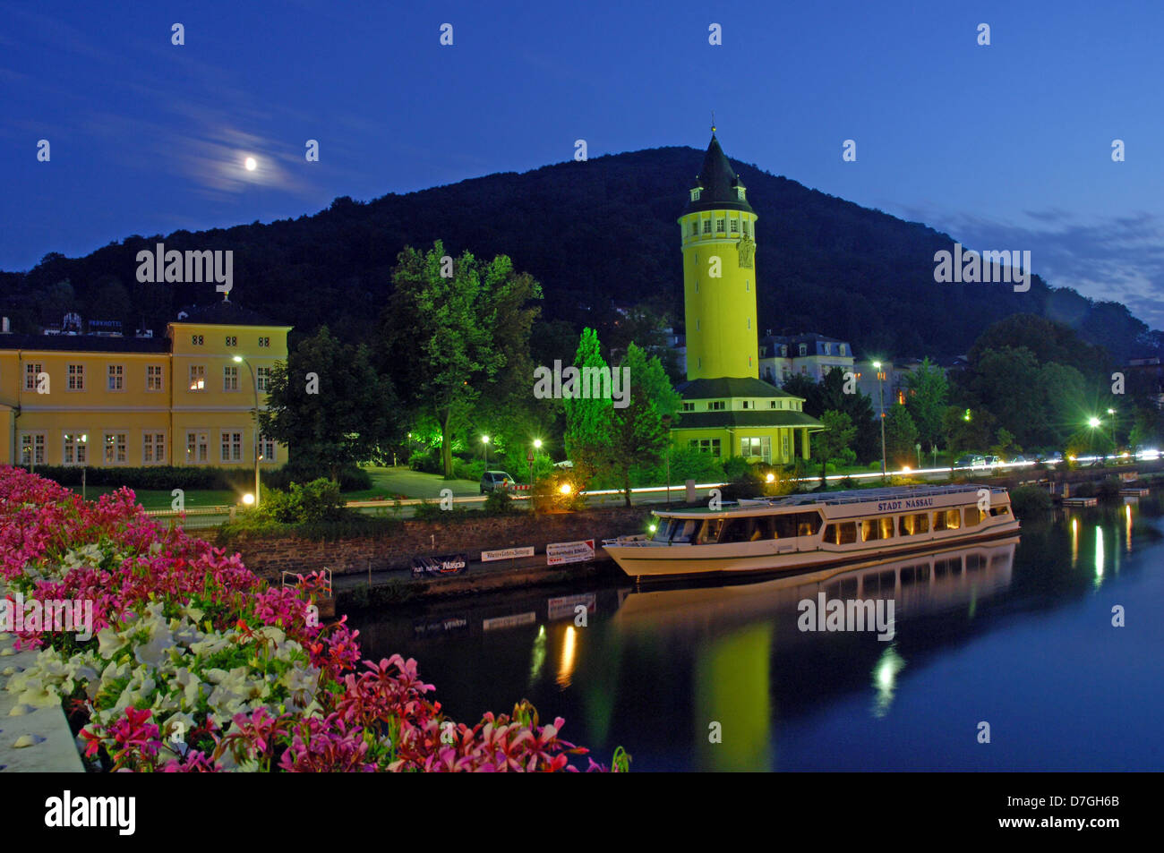 Germany, Rheinland-Pfalz, Bad Ems - Stock Image