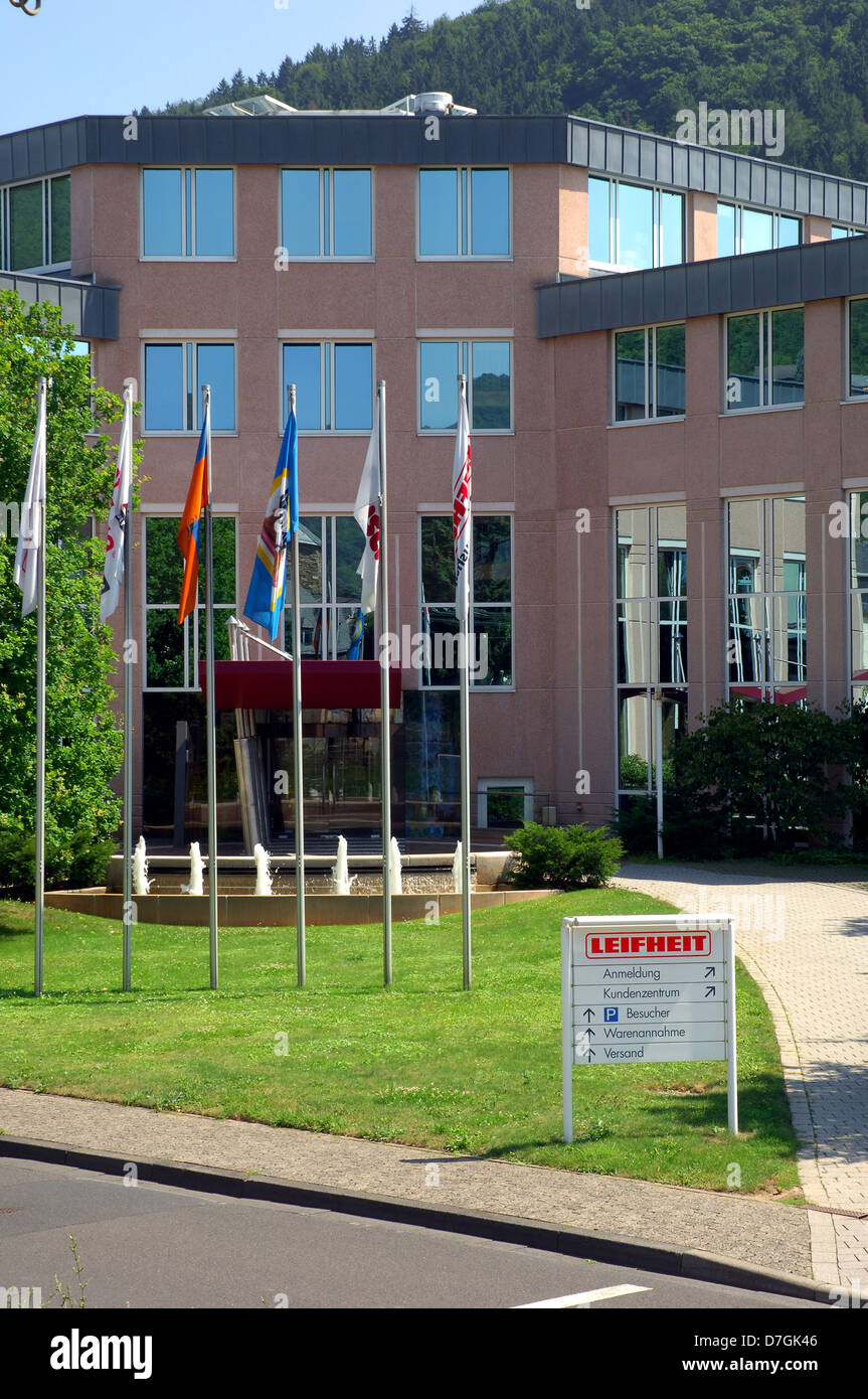 Deutschland, Germany, Rheinland-Pfalz, Nassau Lahn, industry, Leifheit - Stock Image