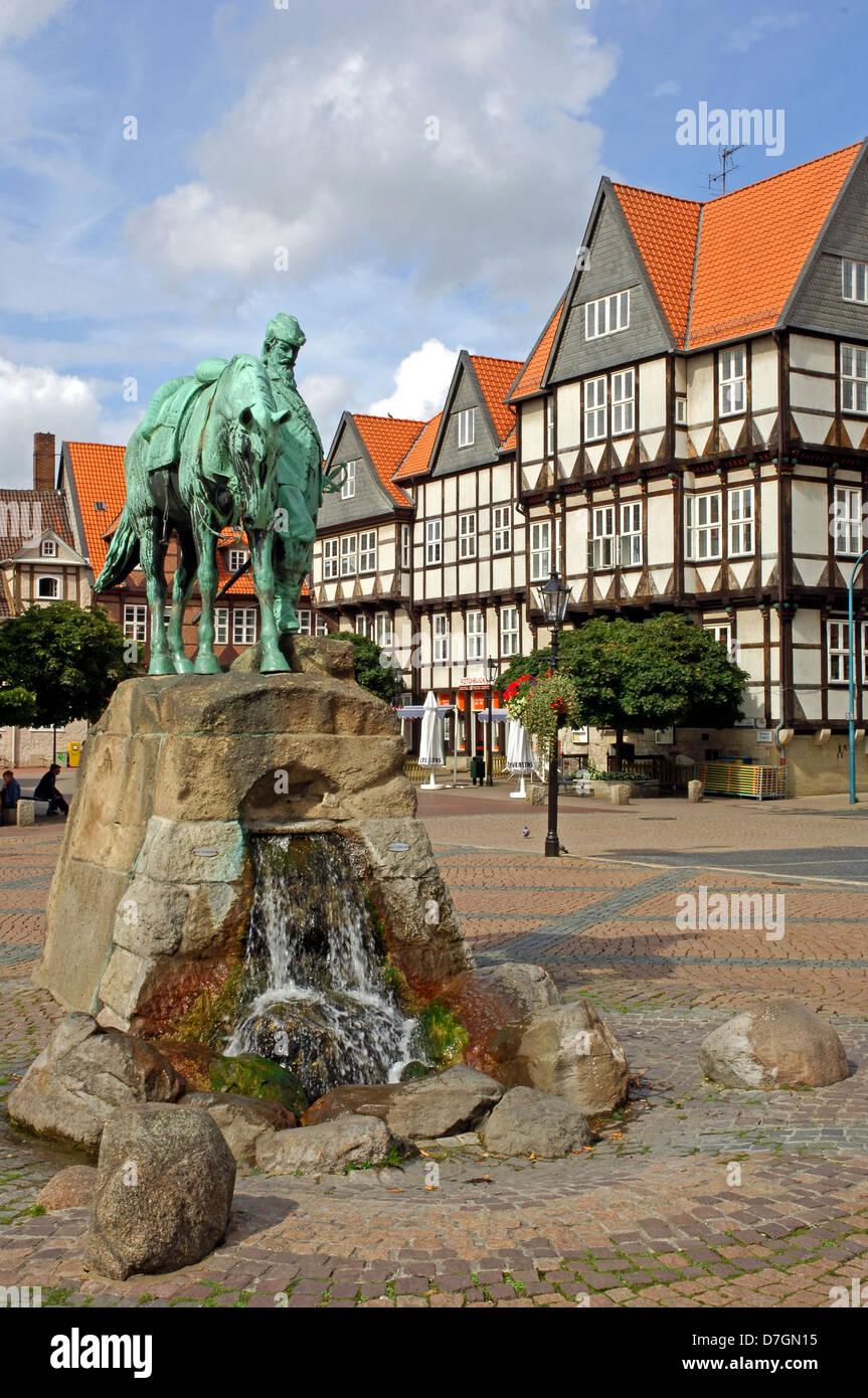 Deutschland, Germany, Wolfenbüttel, Marktplatz, Herzog August - Stock Image