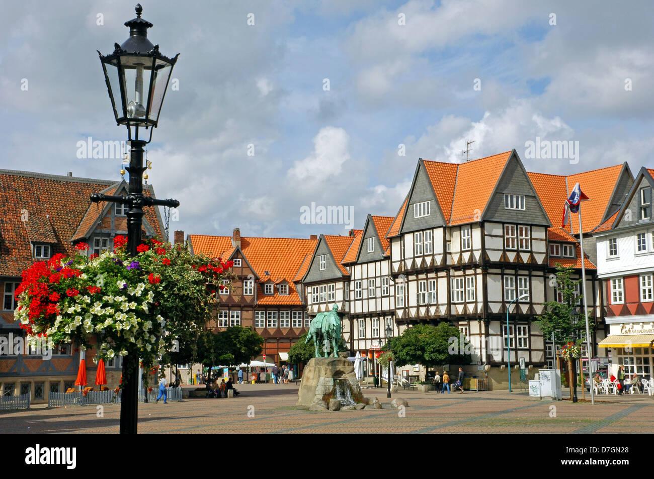 Deutschland, Germany, Wolfenbüttel, Marktplatz, Herzog August Stock Photo