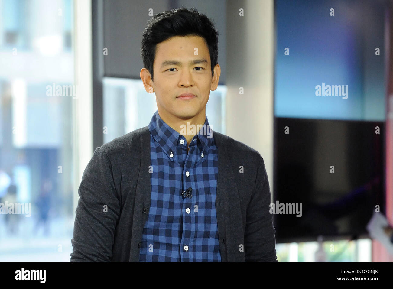 Toronto, Canada. 7th May, 2013. May 7, 2013. Toronto, Canada. American actor and musician, John Cho appears on Global - Stock Image