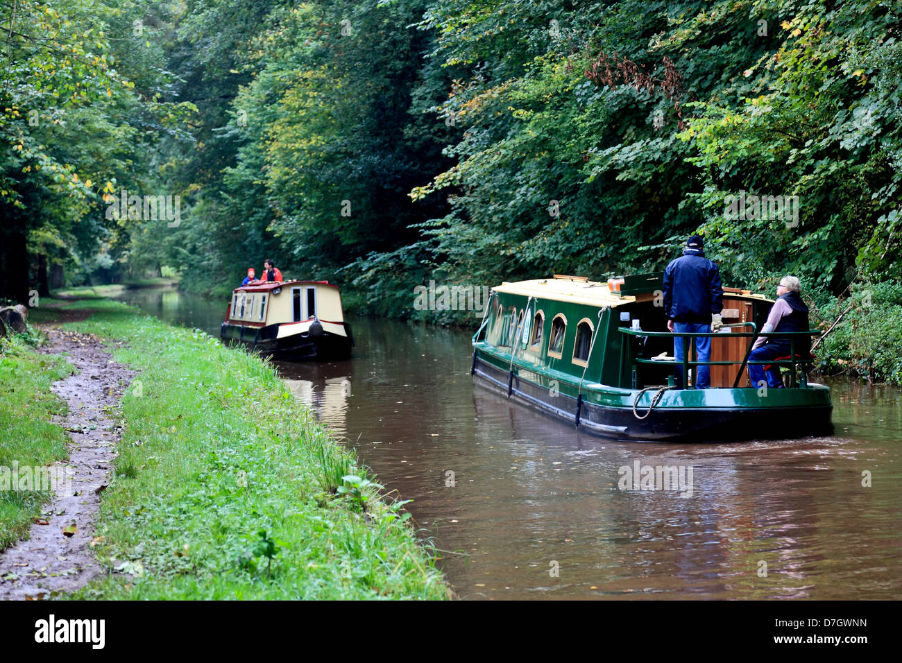 8883. Monmouthshire & Brecon Canal near Talybont-on-Usk, Powys, Wales, UK - Stock Image