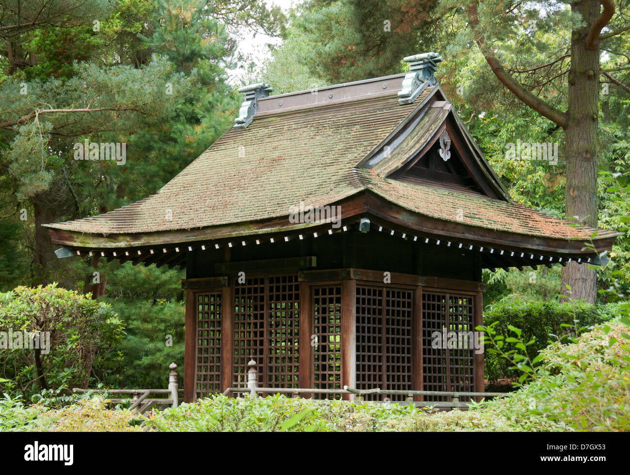 The Shinto Temple In The Japanese Garden Tatton Park Knutsford