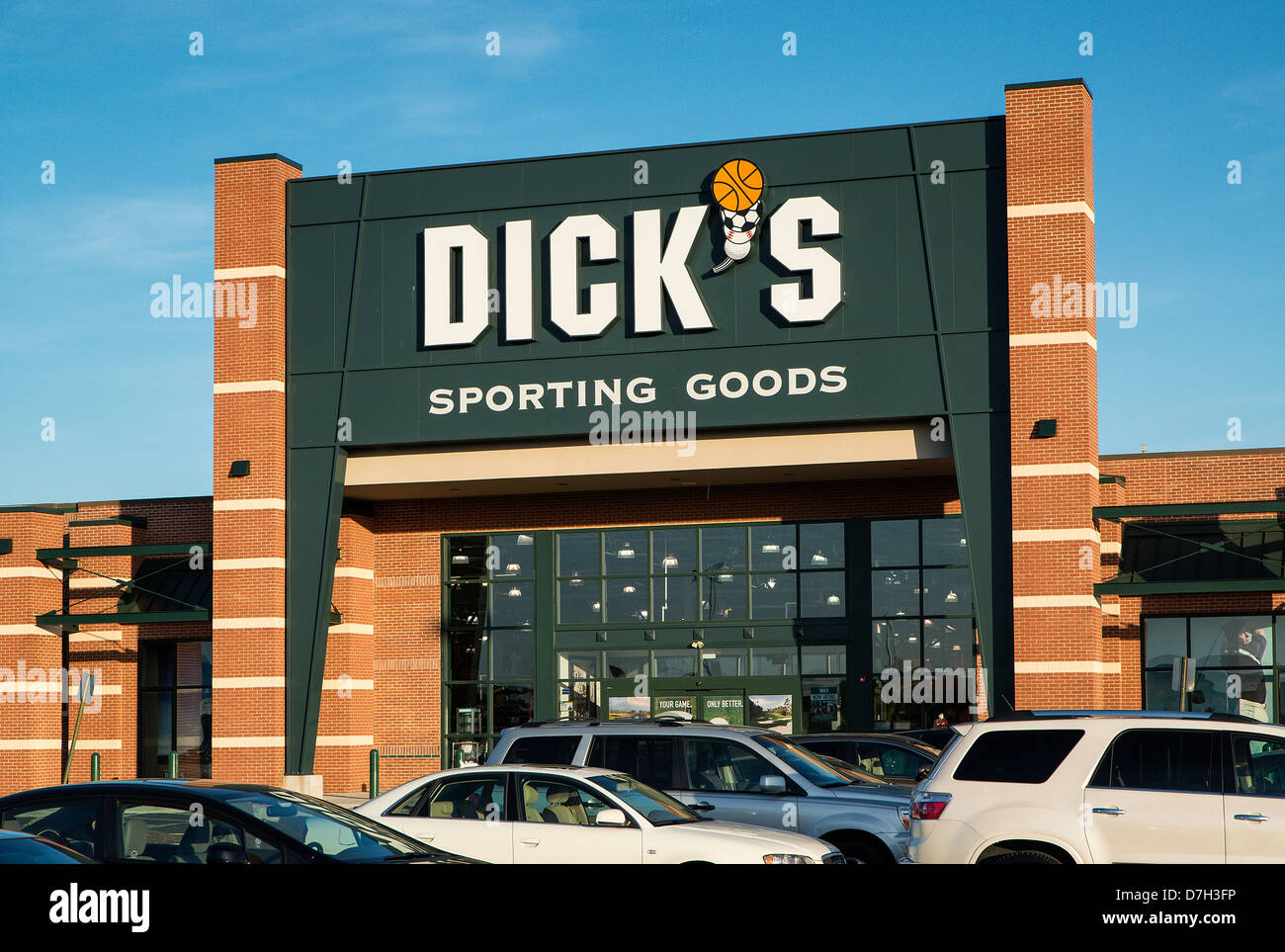 Dick's Sporting Goods store, New Jersey, USA - Stock Image