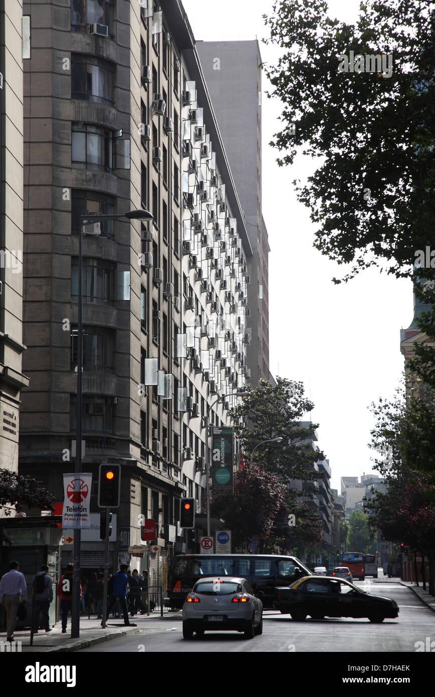 Santiago de Chile home domicile air conditioning - Stock Image