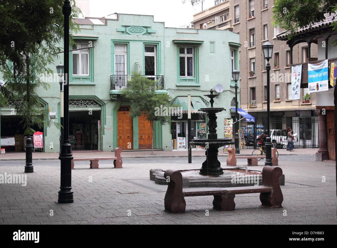 Santiago de Chile  house home domicile - Stock Image