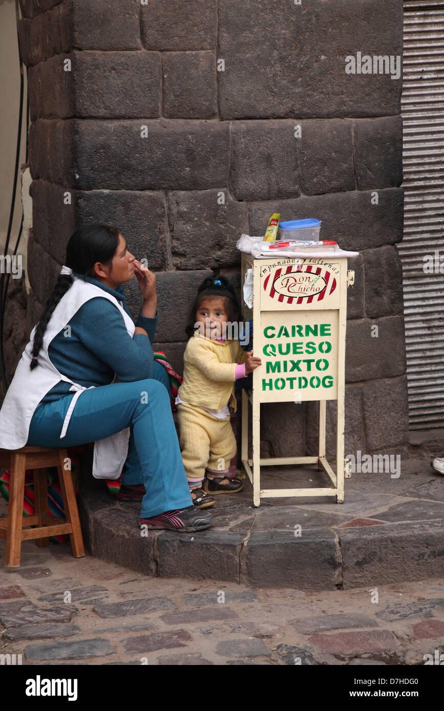 Peru Cusco - Stock Image