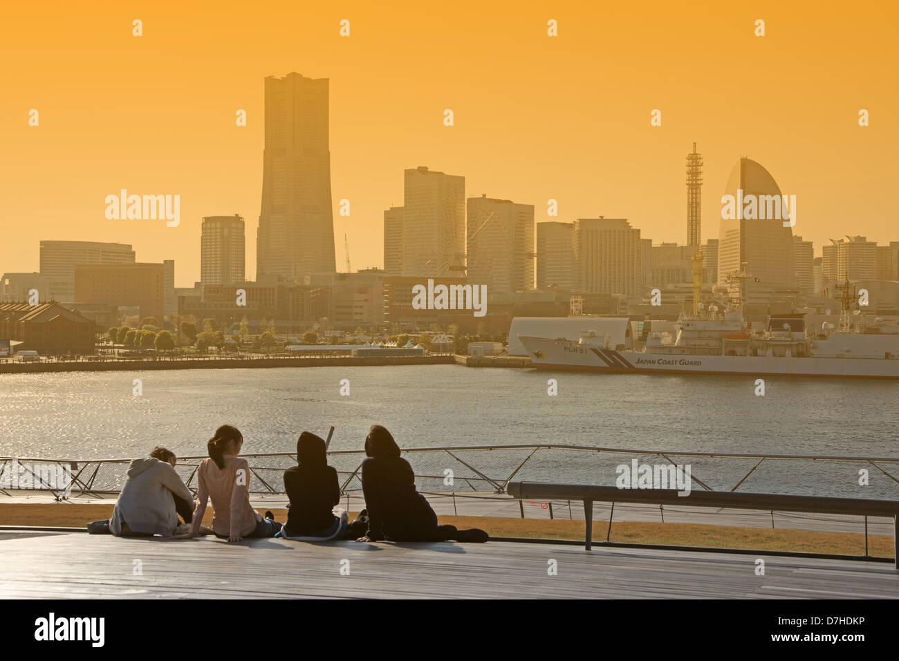 Japan, Kanagawa Prefecture, Yokohama - Stock Image