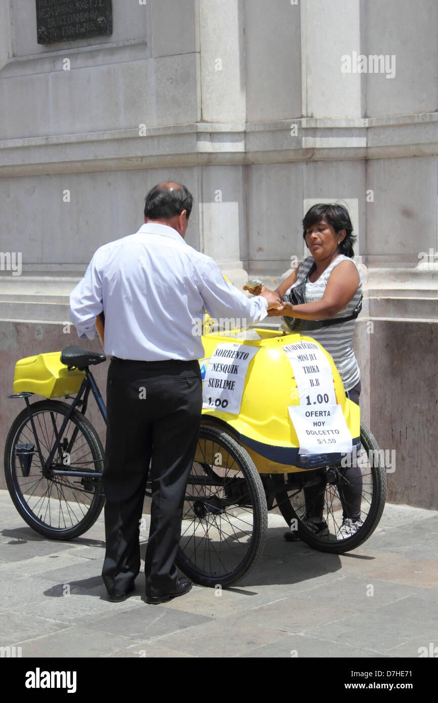 Peru Lima - Stock Image