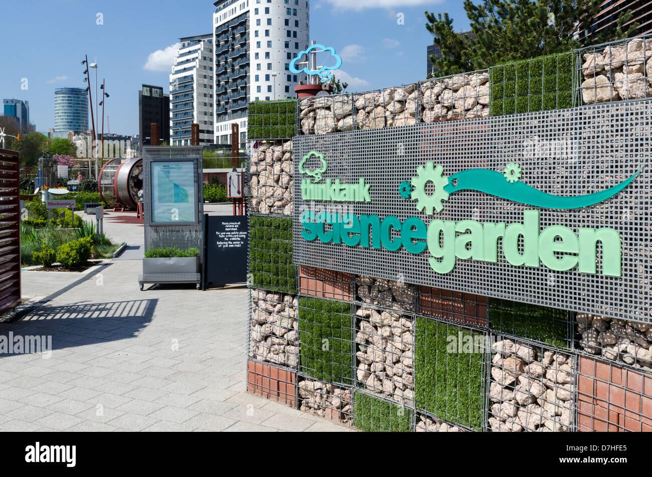 Entrance To The Science Garden At Thinktank, Millenium Point In Birmingham