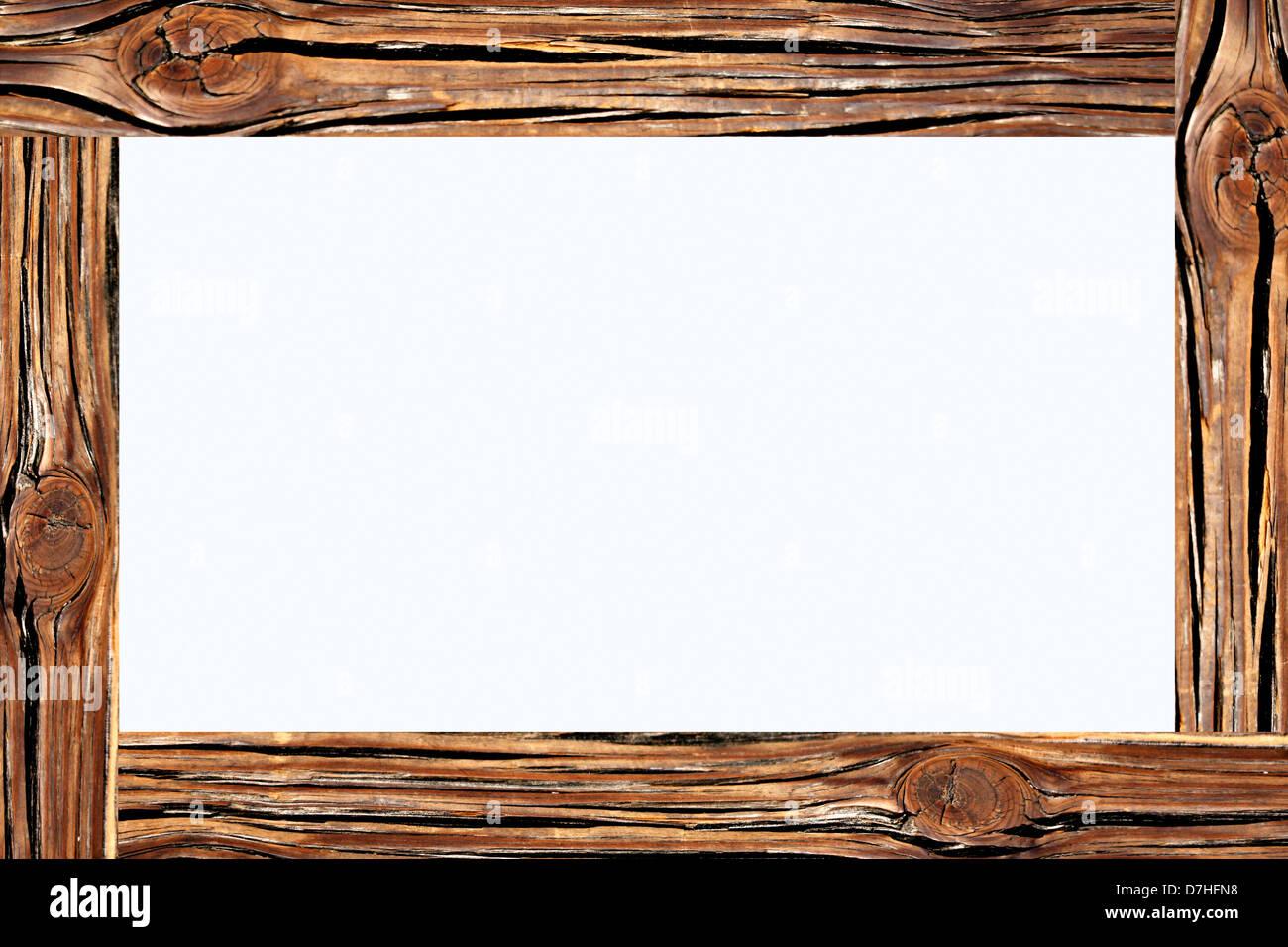 Frame Made Tree Bark Trunk Stock Photos & Frame Made Tree Bark Trunk ...