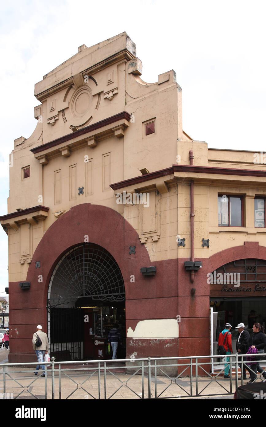 Chile Temuco market hall - Stock Image