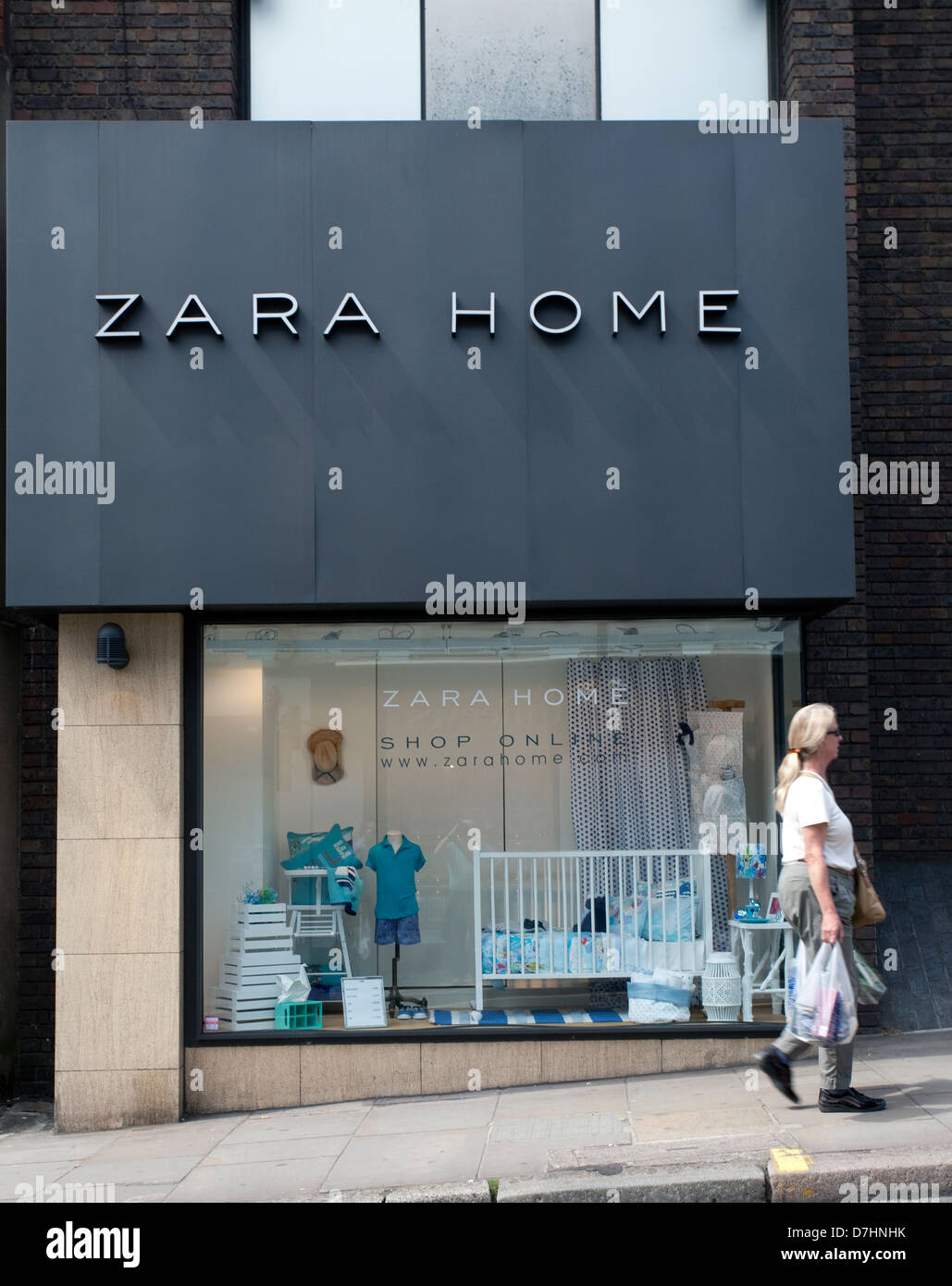 Branch of Zara Home furnishings store in Hampstead, London - Stock Image