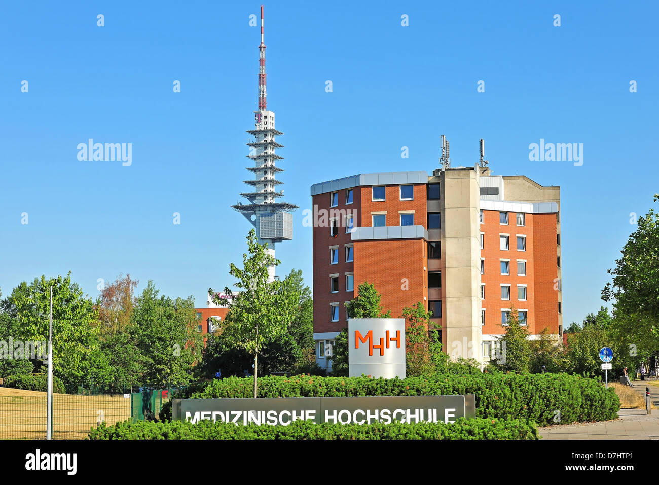 The Medical School in Hanover, Lower Saxony, Germany - Stock Image