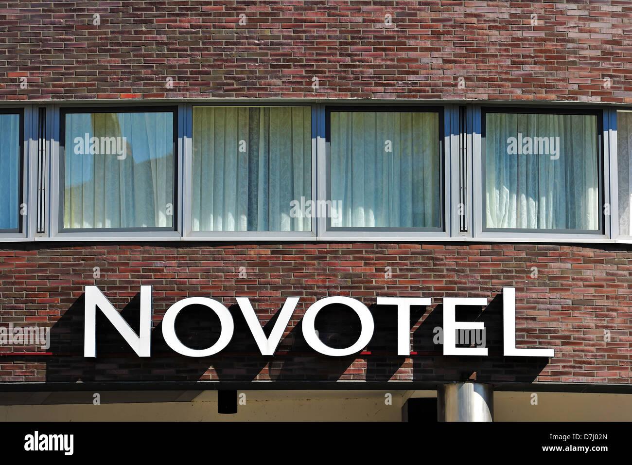 Companies, company signs, names, logo, Novotel - Stock Image