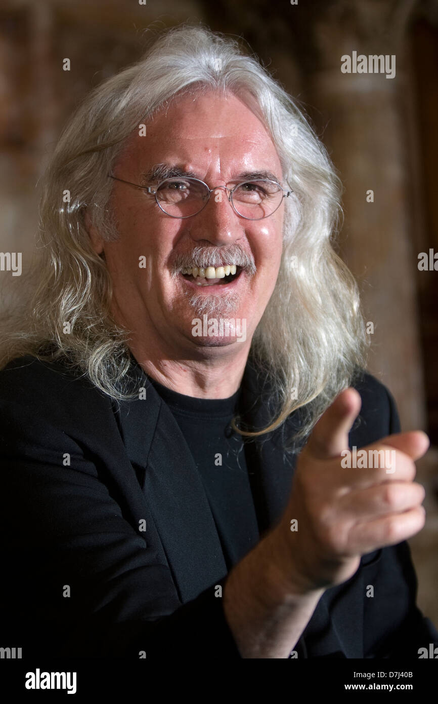 Comedian Billy Connolly in Glasgow - Stock Image
