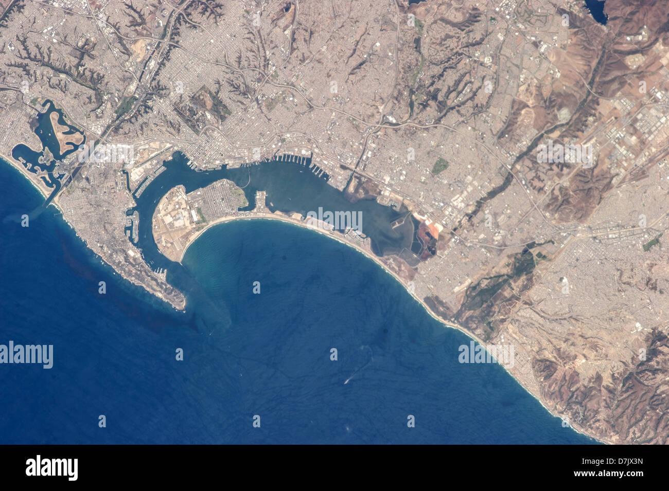 San Diego, California, and Tijuana, Baja California - Stock Image