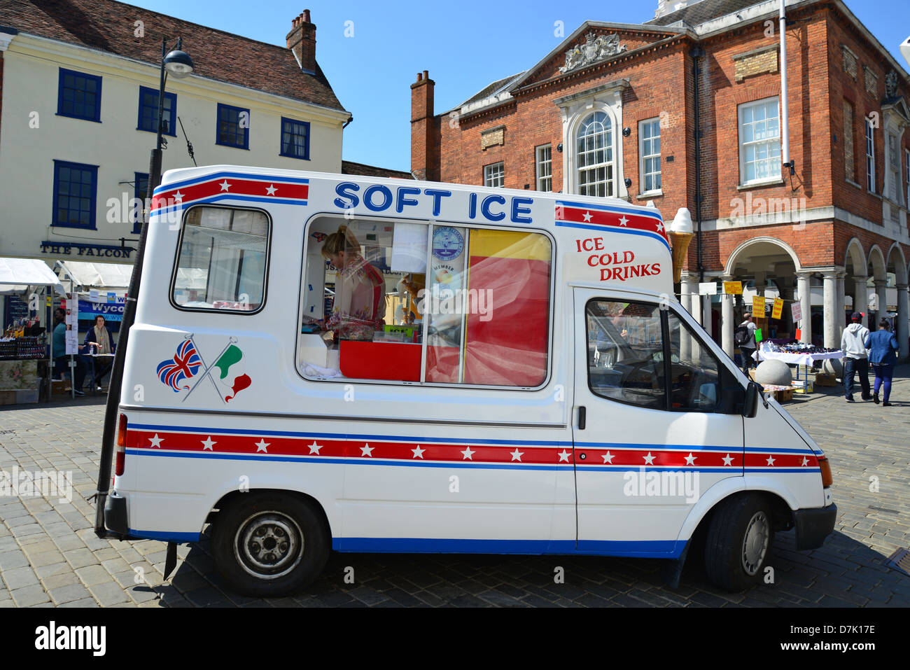 c33fa53b16b6  Soft Ice  ice cream van at High Wycombe Market