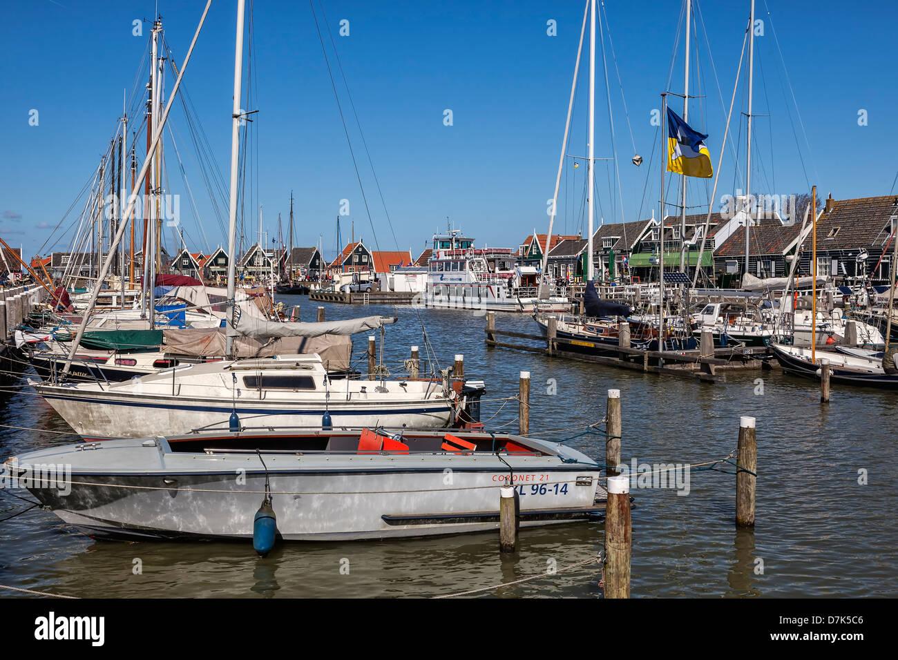 Marken, Waterland, North Holland, Netherlands - Stock Image