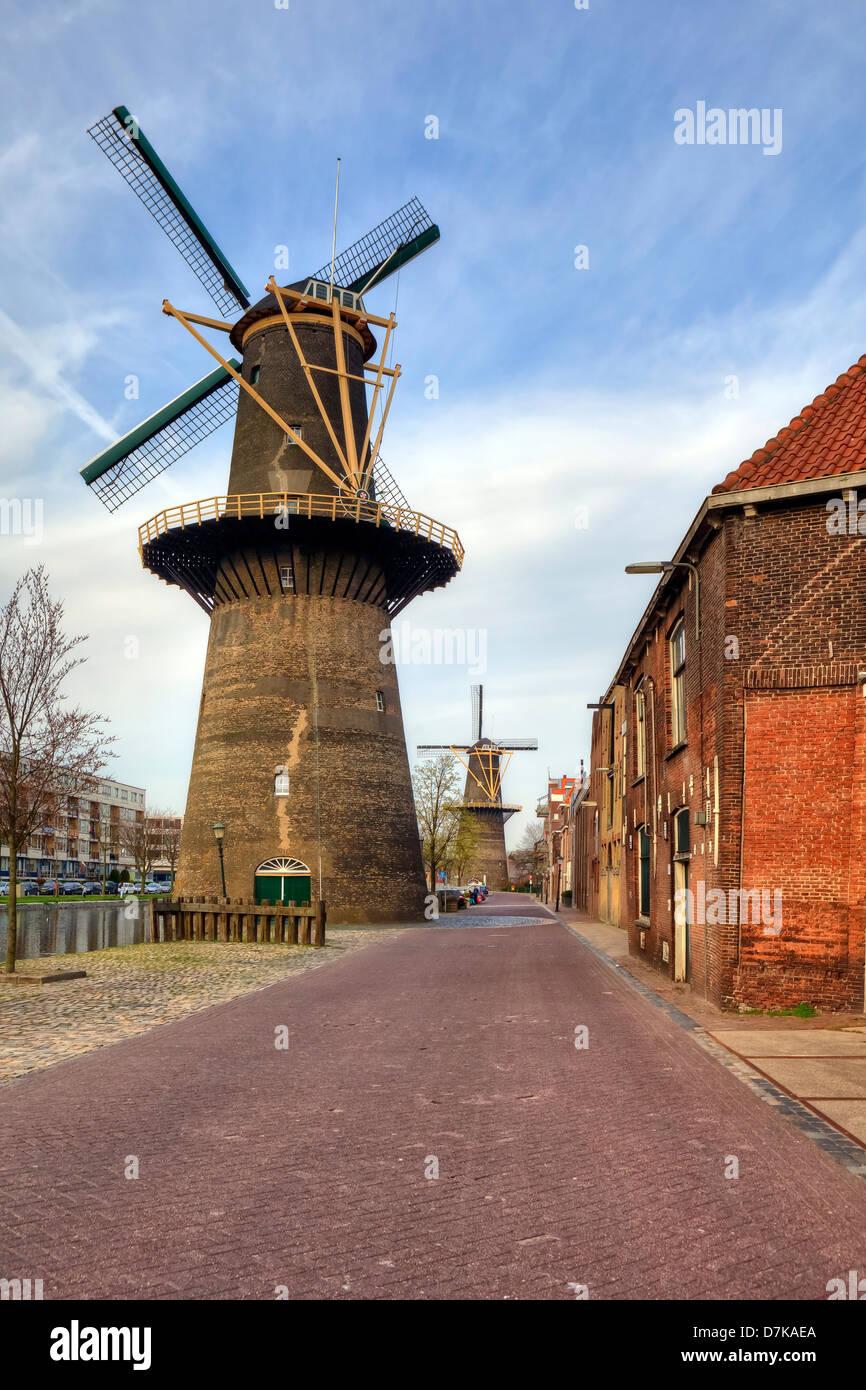 Schiedam, South Holland, Netherlands Stock Photo