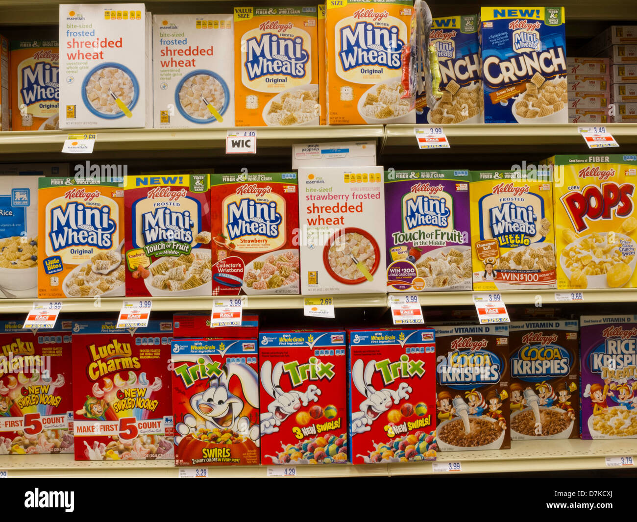Food Lion Grocery Store in South Carolina, USA - Stock Image