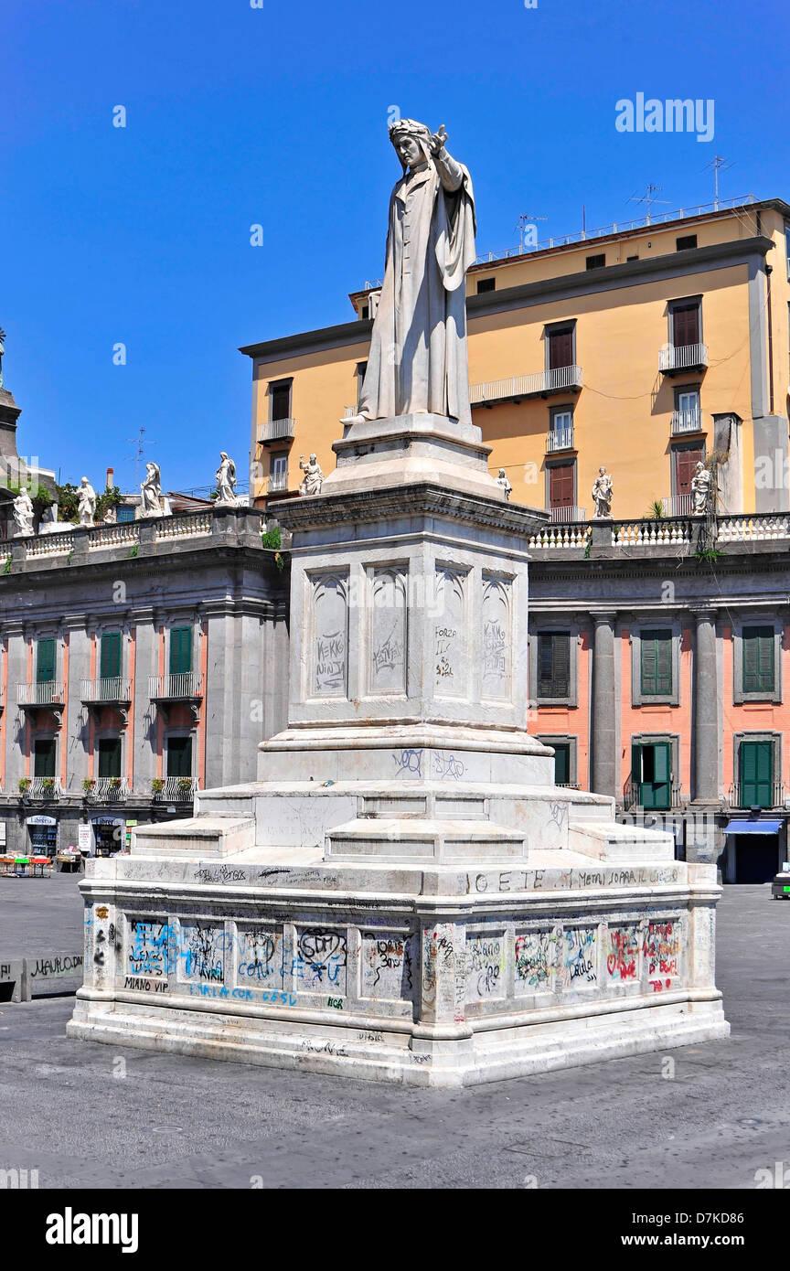 Italy, Campania, Naples, Neapel, Napoli, Piazza Dante - Stock Image