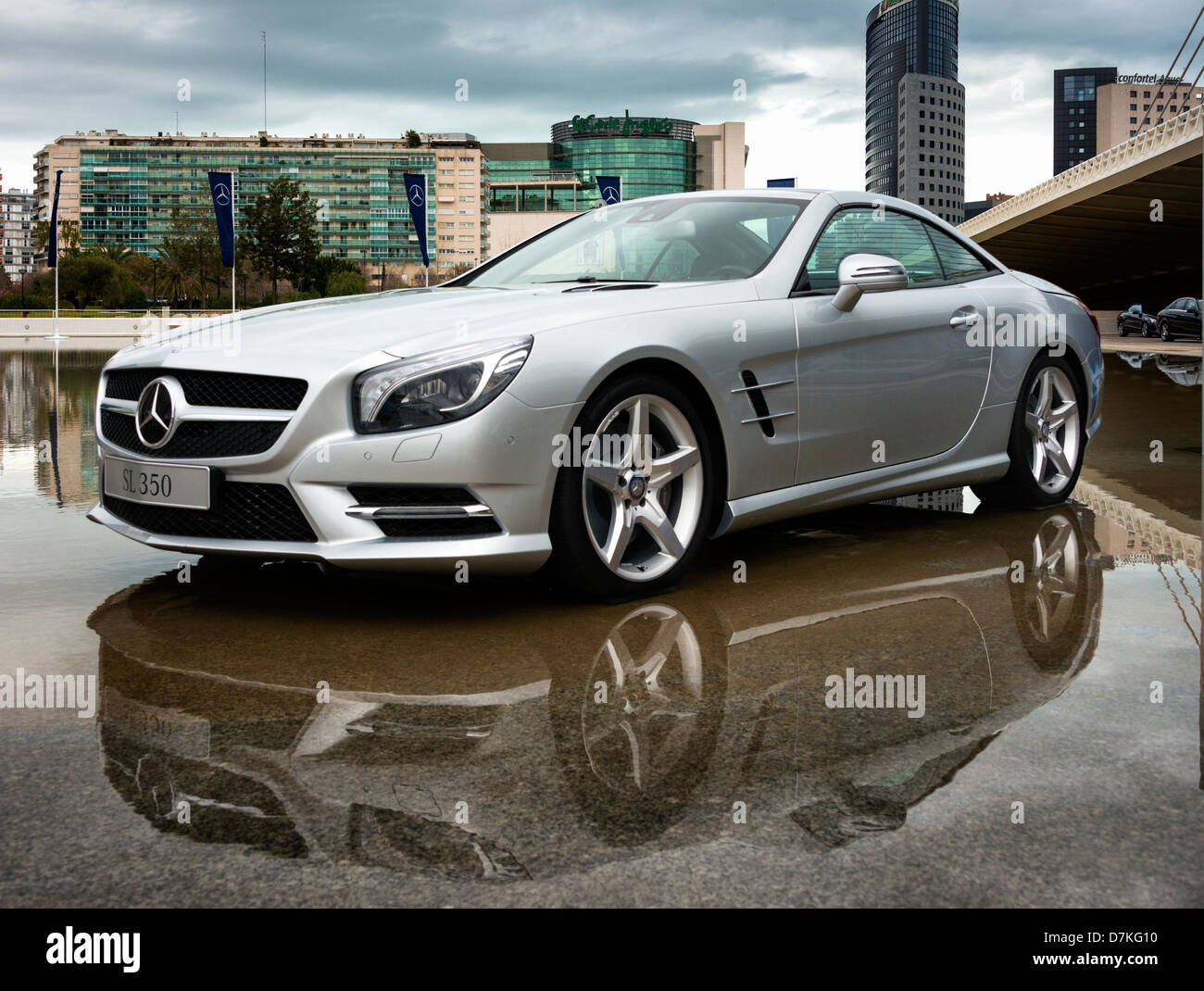 Mercedes-Benz SL350 - Stock Image