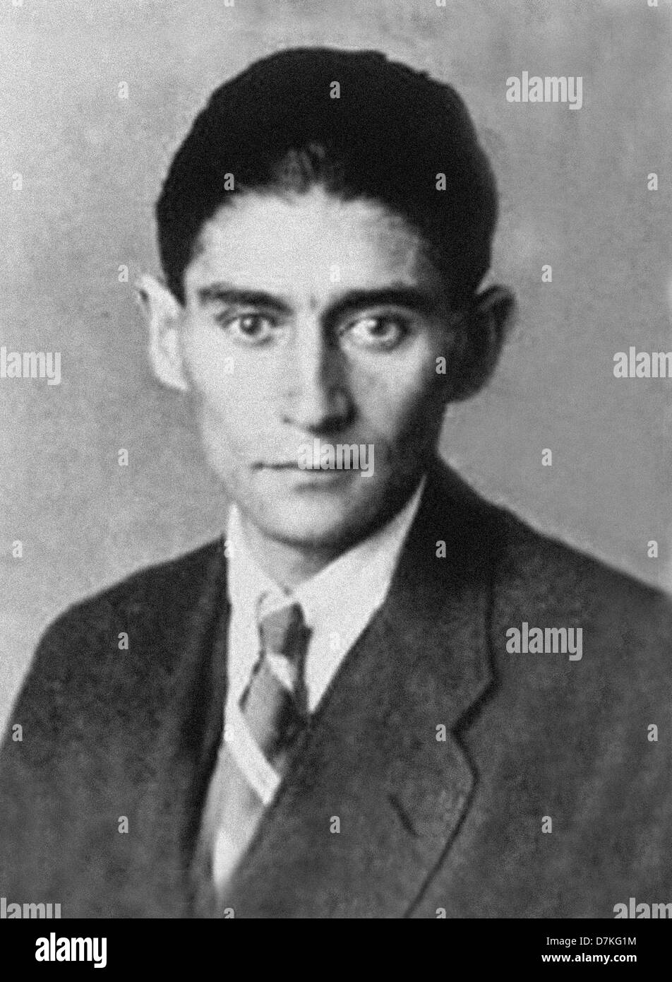 Franz Kafka was a German-language writer of novels and short stories, regarded by critics as one of the most influential Stock Photo
