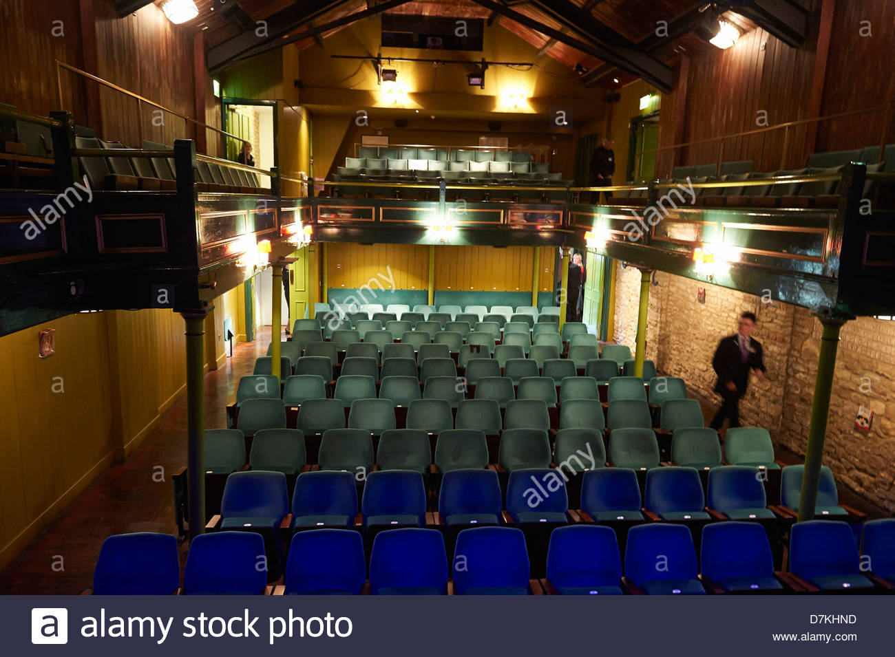 The Theatre Chipping Norton at the Chipping Norton Literary Festival 2013. CREDIT Geraint Lewis - Stock Image