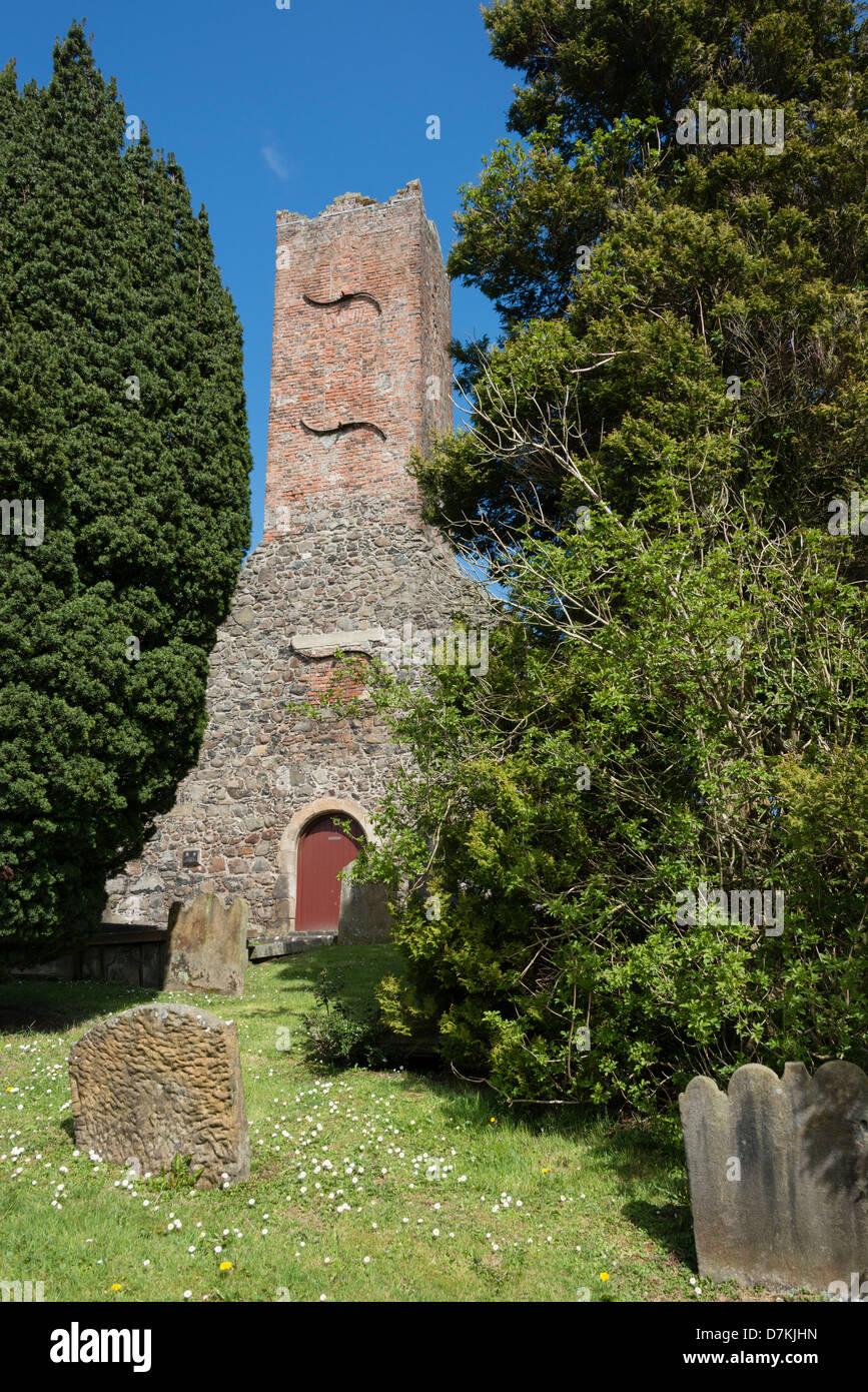 Ballymoney Old Churchyard - Stock Image