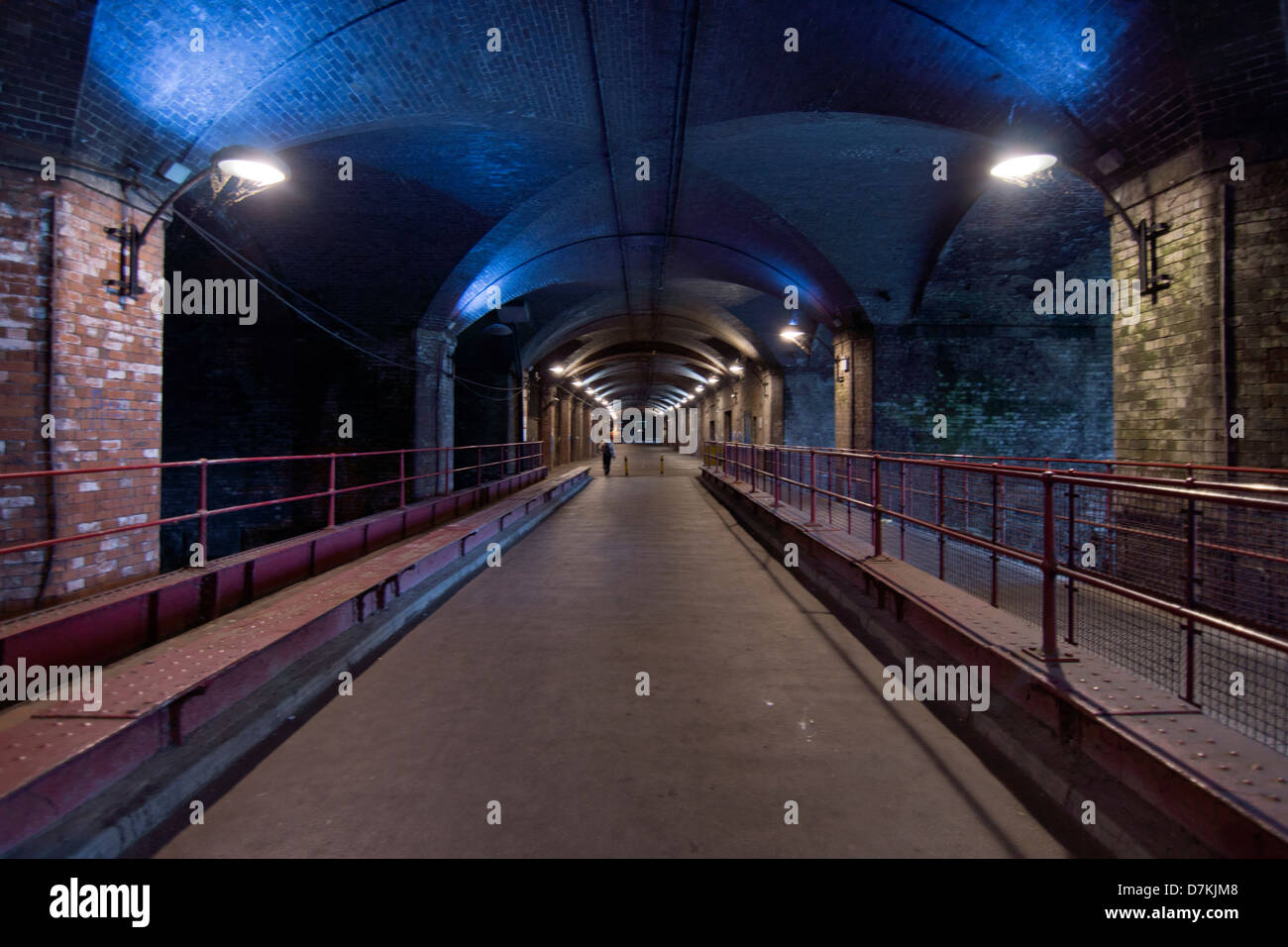 The Dark Arches, Granary Wharf  in Leeds Stock Photo