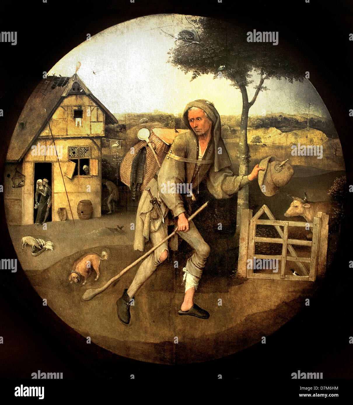 Hieronymus or Jheronimus Bosch ( Jeroen van Aken ) 1450-1516 Netherlands  Holland