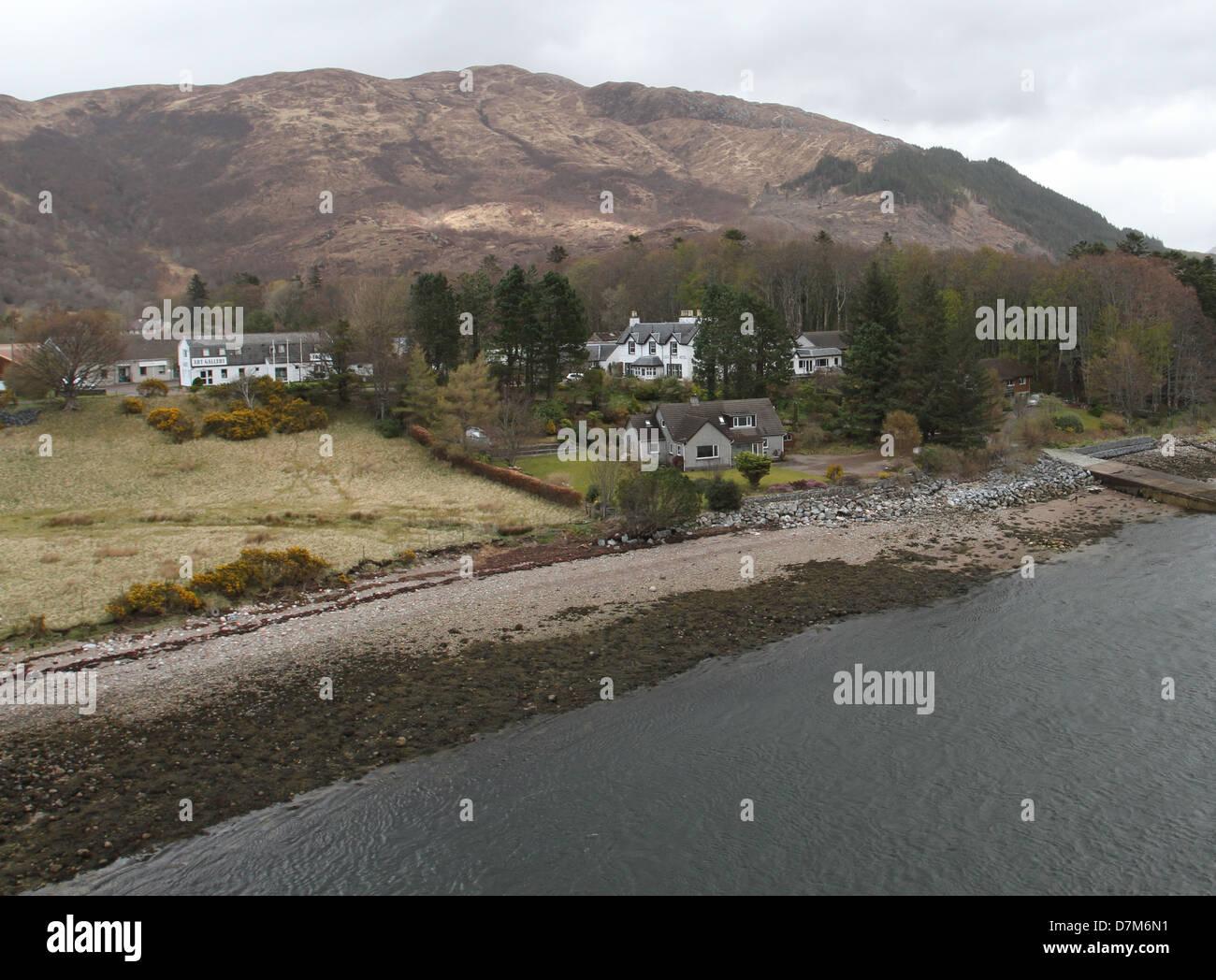 North Ballachulish Scotland  April 2013 - Stock Image