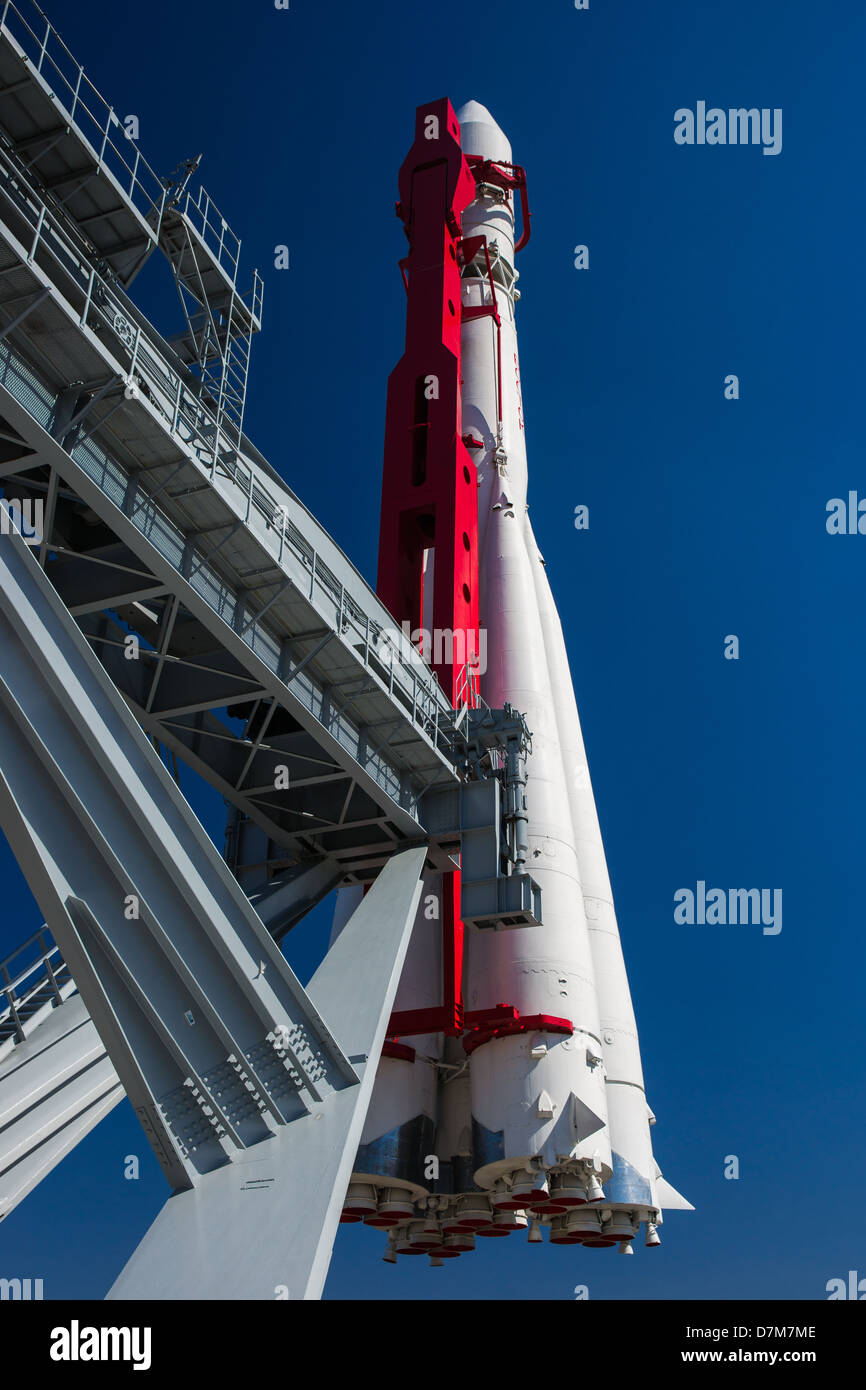 Spacecraft Vostok-1 (East-1) of Yury Gagarin - Stock Image